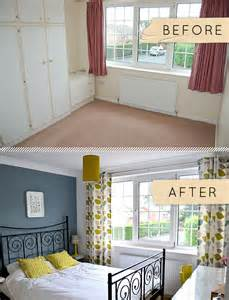 before after a yorkshire bedroom goes from beige to