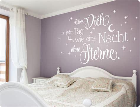 sternenhimmel fürs schlafzimmer dekor wandtattoo schlafzimmer