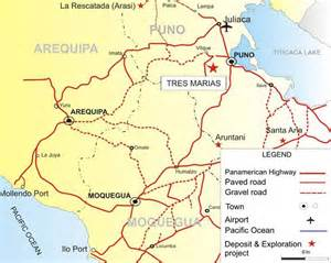 where is a m located map candente gold corp peru tres marias wed jul 12 2017