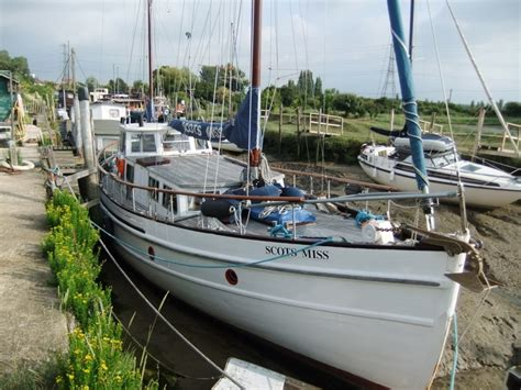 fishing boat for sale scotland lovely weatherhead built fishing boat conversion scots