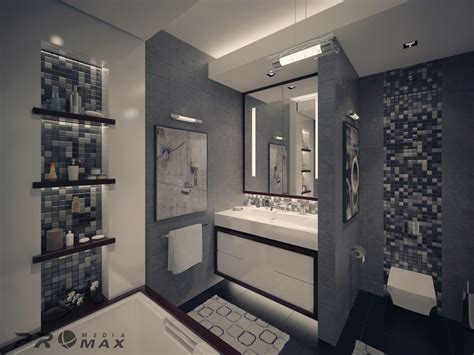Bathroom Designs In Apartments Modern Apartment 1 Bathroom 2 Interior Design Ideas
