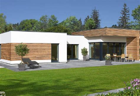 bungalows ideen avantgarde 126 f baufritz http www hausbaudirekt de