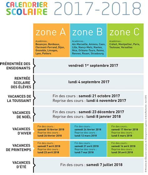 Vacances Scolaires 2016 2018 Annee Scolaire 2016 2017 Lahulotte Julien