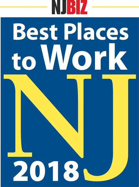 best place to work best places to work in new jersey njbiz