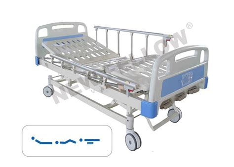 rotating bed with remote control manual rotating bariatric hospital bed with wheels center brake