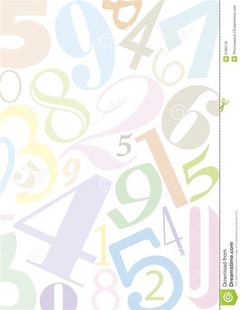 imagenes de numeros sin fondo fondo con n 250 meros imagen de archivo libre de regal 237 as