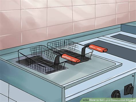 how to set up a kitchen 5 ways to set up a commercial kitchen wikihow