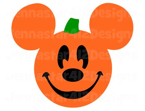 mickey mouse pumpkin faces mickey pumpkin svg png jpg by lavenderfallsdesigns