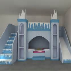 frozen inspired princess castle bed kent