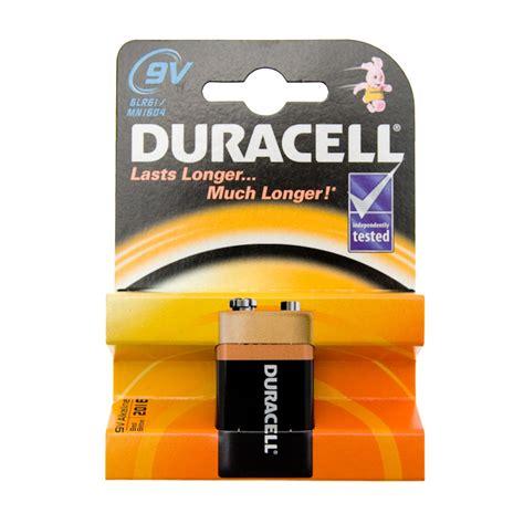 Batre Alkaline 9 Volt by B M Duracell 9 Volt Alkaline Battery 131172 B M