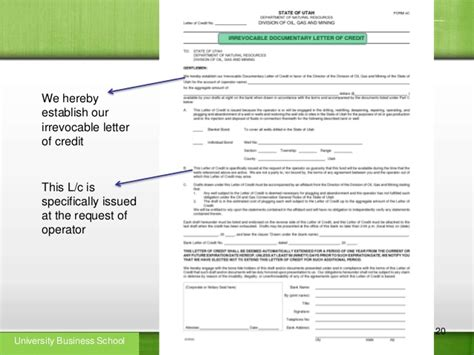 Letter Of Credit Beneficiary Certificate Letter Of Credit