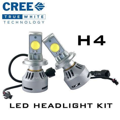Lu Led Cree H4 h4 hi lo cree headlight led kit 3200 lumens