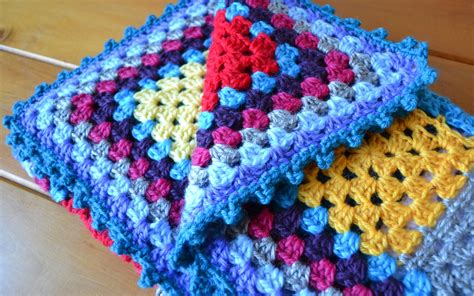 Crochet Edging For Blanket by Crochet Square Edging Patterns Crochet And Knit