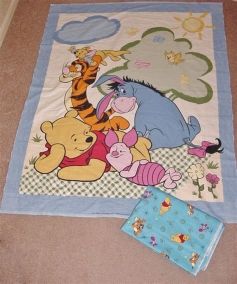 Winnie The Pooh Quilt Fabric winnie the pooh fabric quilt panel plus 2 yards fabric