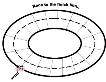 Coloring Pages Race Track