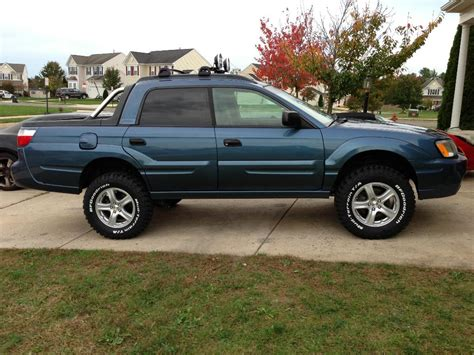 subaru baja lift kit sjr lift in wheel trimmed scoobytruck com