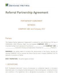 referral partnership agreement