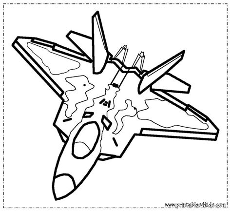 coloring pages of a jet fighter jet coloring page printables for kids free