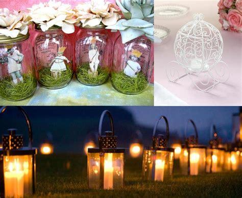 Fairytale Decorations by Anslie S Rosette Boxes Wedding Invitation Jar
