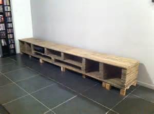 un meuble tv sur mesure en palette z 244 dio