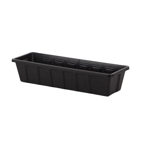 24 quot plastic planter liners plastic planter boxes hooks