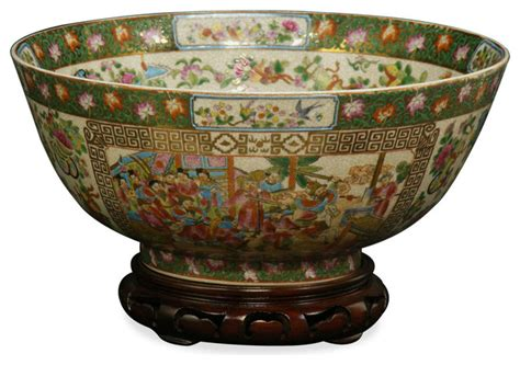 Decorative Bowl by 12 Quot Canton Presentation Bowl Decorative