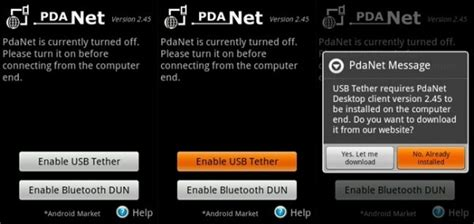 pdanet for android phone how to connect your desktop to the using an android phone android authority