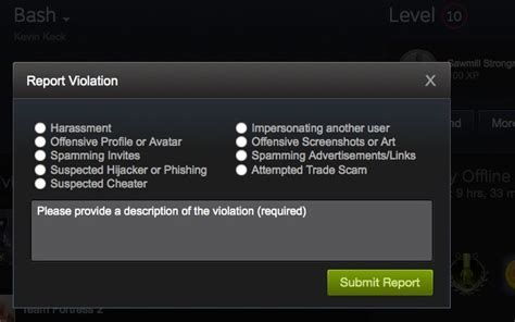 Steam User Search By Email 9 Common Steam Community Violations And How To Report Them