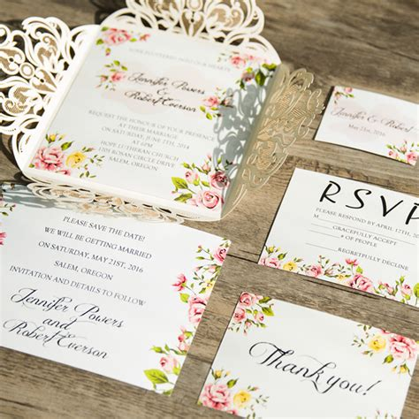 wedding invitations plumegiant