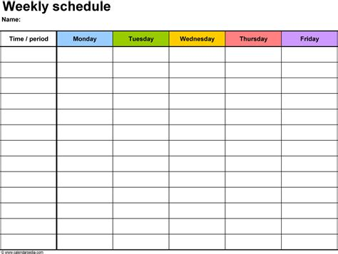 workout schedule template 10 free word excel pdf format with