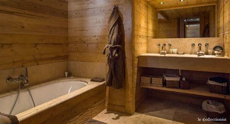 salle de bain chalet de montagne