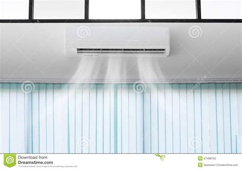 Ac Air Curtain air conditioner stock photo image 47498750