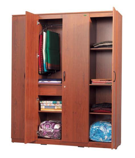 4 door armoire zuari wardrobe four door star natural teak finish buy