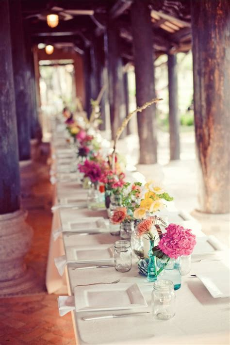 top 35 summer wedding table d 233 cor ideas to impress your guests emejing wedding table centerpieces ideas contemporary
