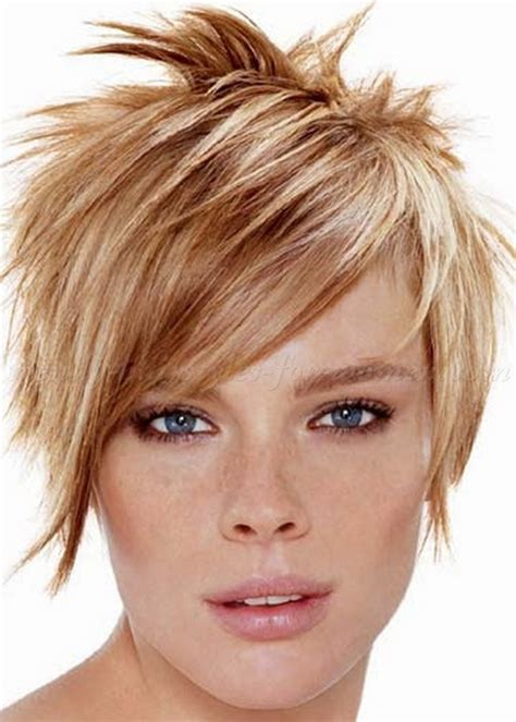 short hair styles with spiked top spiky short hairstyles for women