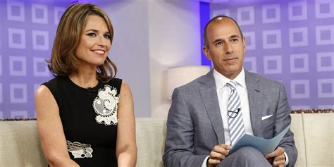 matt lauer and savannah guthrie today co hosts send best wishes to abc news amy robach