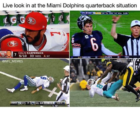 live look in at the miami dolphins quarterback situation