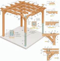 How To Build A Pergola Step By Step by Pergola Plans How To Build Your Own Pergola Un An And