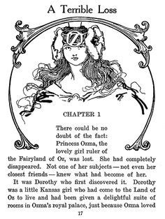 Ozma of Oz; a record of her adventures with Dorothy Gale