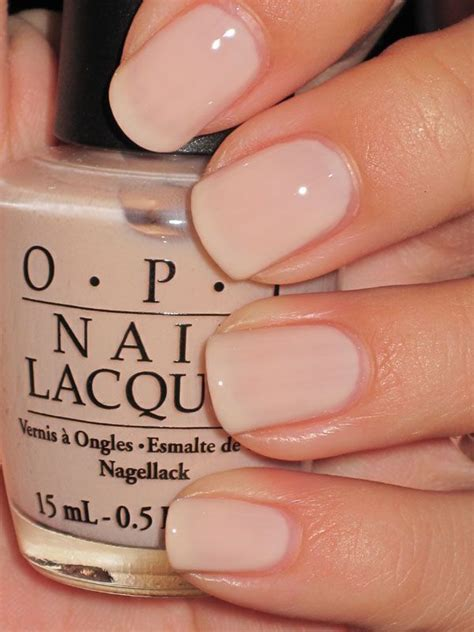 what opi colors are best for short nails i love the idea of subtle nail color when i find the