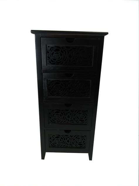 entryway cabinet with drawers assembled slim narrow wide hallway bedside chest of