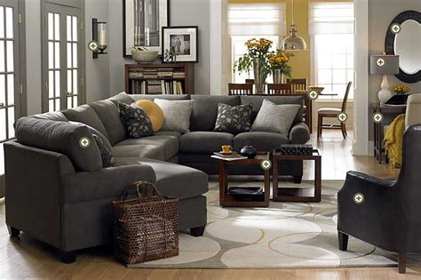 gray sofa yellow walls gray yellow the it colors really like the contrast