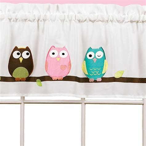 Owl Kitchen Curtains Owl Rod Pocket Valance Jcpenney School Owl Themed Classroom Owl Pockets And