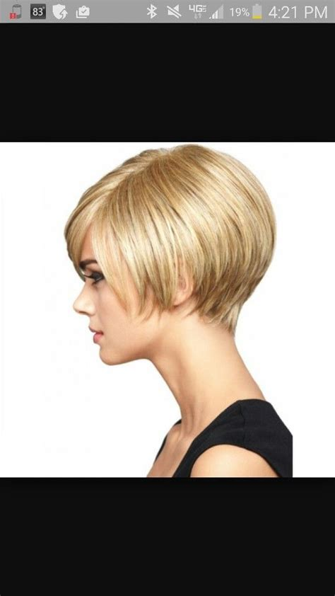 swing bob hairstyle with bump hair 305 best images about cabelos e vaidades on pinterest
