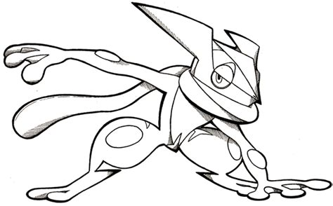 pokemon coloring pages greninja pokemon frogadier coloring pages images pokemon images