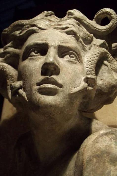 mythology statues medusa statue ancient greek mythology art sculpture gorgon greekstatue potential fish