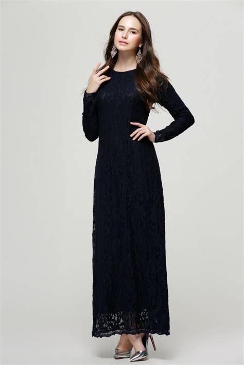 Baju Muslim Wanita Dress Maxy Dress New Larisa Maxy european style muslim ethnic lace jubah baju kurung dress 11street malaysia baju kurungs