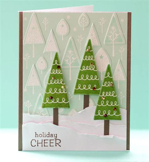 25 easy handmade christmas greetings fun to make with your