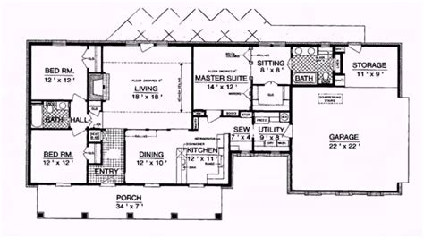 1800 square feet house plans 1800 square foot ranch house plans elegant ranch style house plans 1800 square feet
