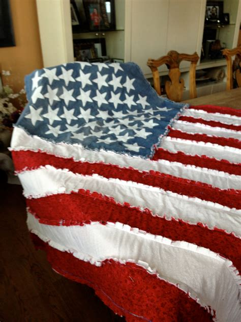 american flag rag quilt this gorgeous quilt is made from soft